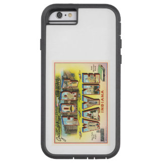 Fort Wayne #2 Indiana IN Vintage Travel Souvenir Tough Xtreme iPhone 6 Case