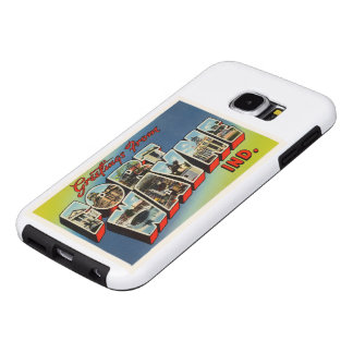 Fort Wayne Indiana IN Old Vintage Travel Souvenir Samsung Galaxy S6 Cases