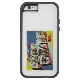 Fort Wayne Indiana IN Old Vintage Travel Souvenir Tough Xtreme iPhone 6 Case