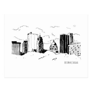 Fort Wayne Postcard