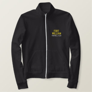 FORT WILLIAM, Football Club Embroidered Jacket