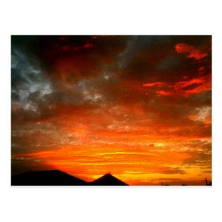 Fort Worth sunset Postcard