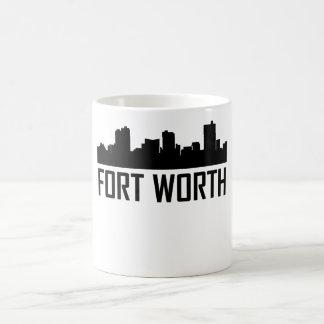 Fort Worth Texas City Skyline Coffee Mug