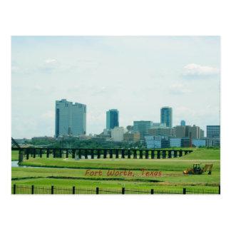 Fort Worth Texas Postcard