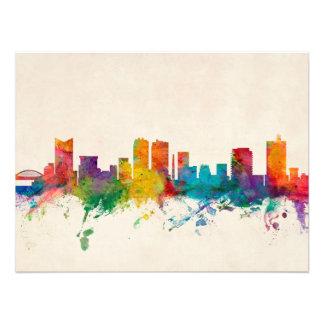 Fort Worth Texas Skyline Art Photo