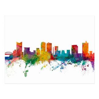 Fort Worth Texas Skyline Postcard