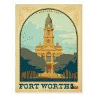 Fort Worth, TX Postcard