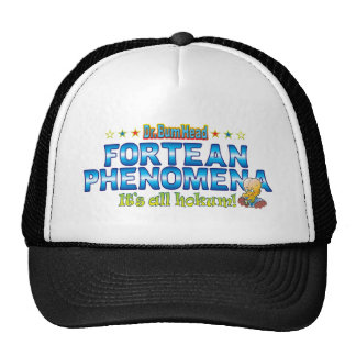 Fortean Phenomena Dr. B Head Trucker Hat