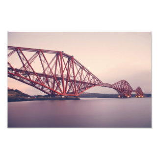 Forth Bridge at Dusk Photo Print