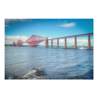 Forth Bridge at South Queensferry Photo Print