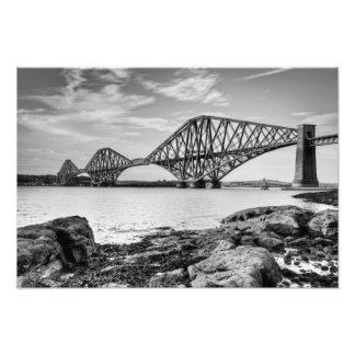 Forth Bridge from South Queensferry Art Photo