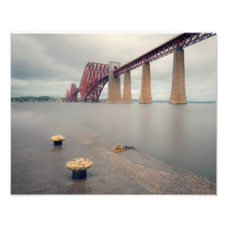 Forth Bridge Long Exposure Photo Print