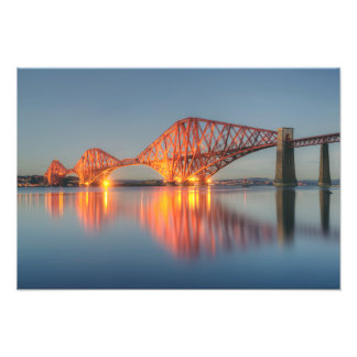 Forth Bridge, Scotland Photo Art