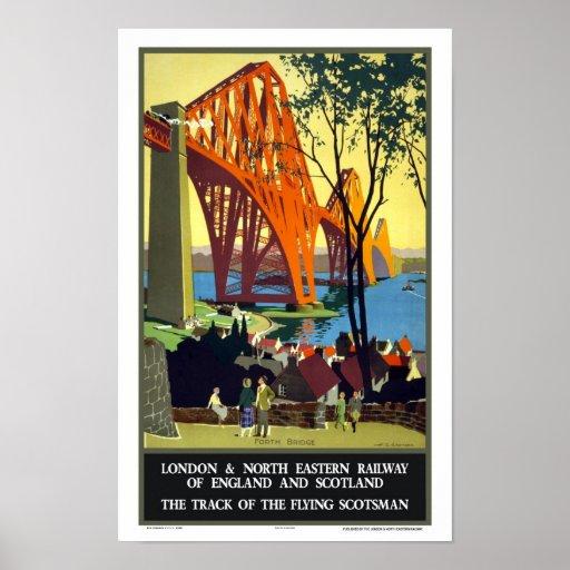Forth Bridge- Scotland Poster