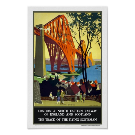 Forth Bridge- Scotland Poster