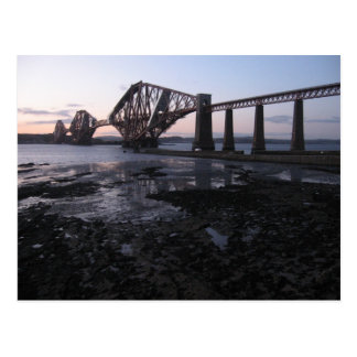 Forth Railway Bridge Postcard