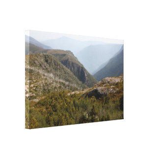 Forth Valley, Tasmanian wilderness Canvas Print
