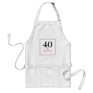 Fortieth Birthday Party Apron
