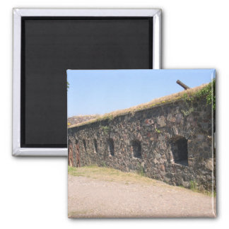 Fortifications On Suomenlinna In Helsinki Magnet