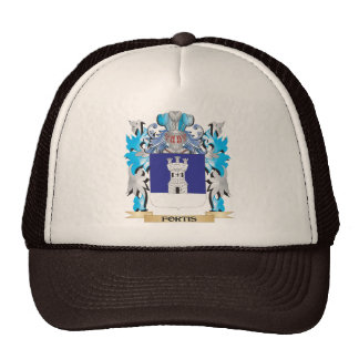 Fortis Coat of Arms - Family Crest Trucker Hat