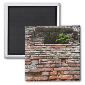 fortress wall window square magnet