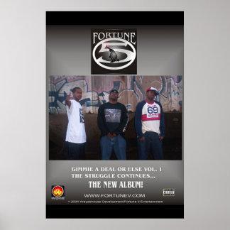 Fortune 5 album poster