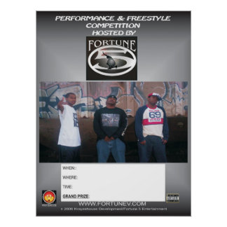 Fortune 5 freestyle poster