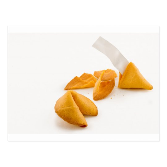 Fortune Cookie Postcard