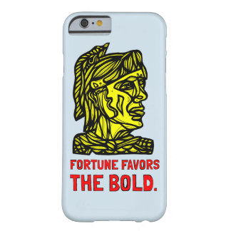 """Fortune Favors the Bold"" Phone Case"