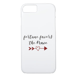 Fortune Favors the Brave iPhone 8/7 Case