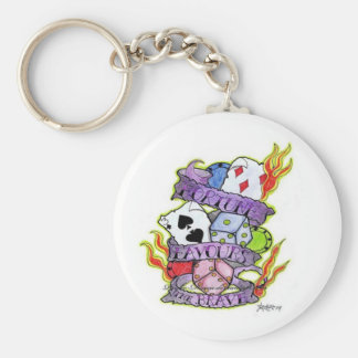 Fortune Favours Keychain