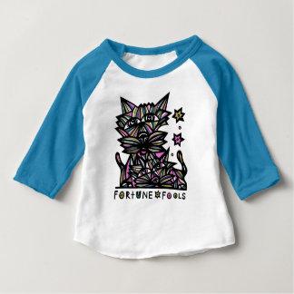 """Fortune Fools"" Baby Raglan T-Shirt"