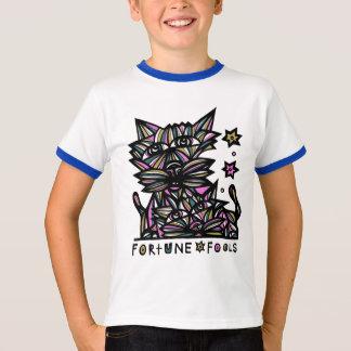 """Fortune Fools"" Boys Ringer Shirt"