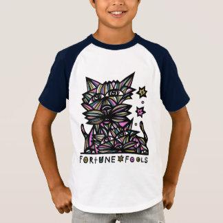 """Fortune Fools"" Boys' Short Sleeve Raglan T-Shirt"