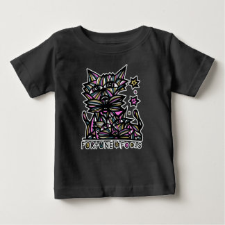 """Fortune Fools"" BuddaKats Baby T-Shirt"