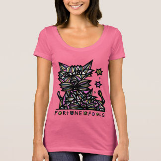 """""""Fortune Fools"""" Women's Scoop Neck T-Shirt"""
