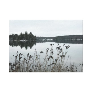 Fortune Lakes in Crystal Falls, MI Canvas Print