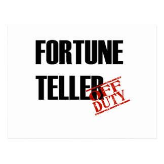 FORTUNE TELLER LIGHT POSTCARD