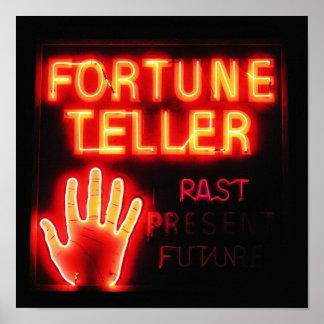 Fortune Teller - Past Present & Future Poster