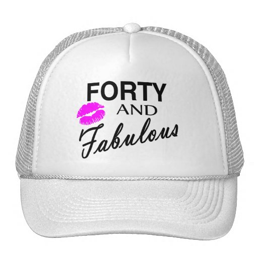 Forty And Fabulous Hats