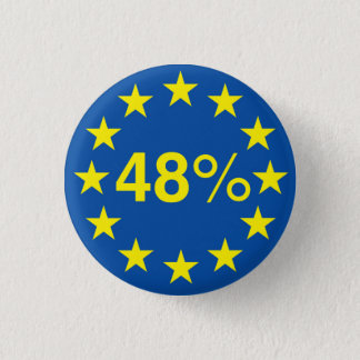 Forty Eight Percent (Small Button Badge)