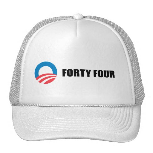 FORTY FOUR MESH HATS