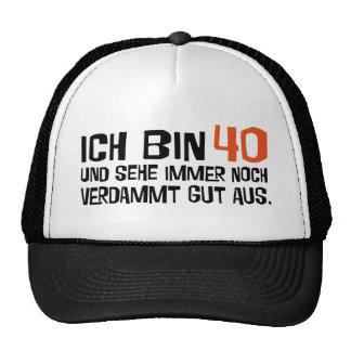 forty trucker hats