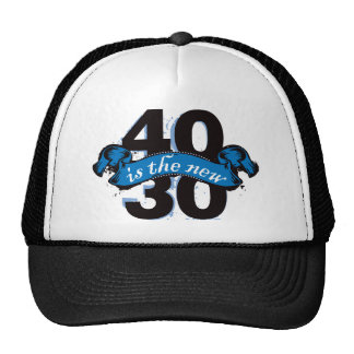 Forty Is The New Thirty - Blue Trucker Hat