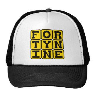 Forty Nine Number 49 Mesh Hat