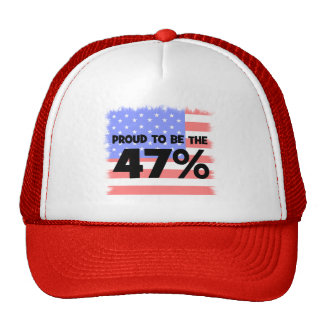 forty seven percent trucker hat