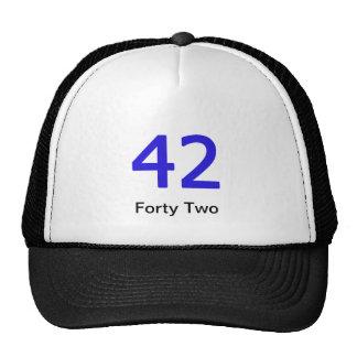 Forty Two Merchandise Trucker Hat