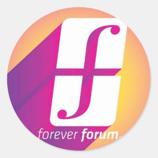 Forum Classic Round Sticker