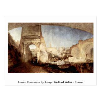 Forum Romanum By Joseph Mallord William Turner Postcard