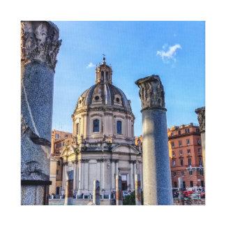 Forum Romanum, Rome, Italy Canvas Print
